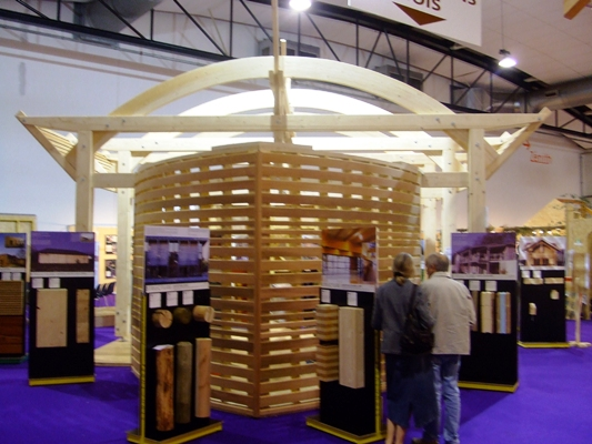 Stand d 39 exposition ao architecture for Salon exposition