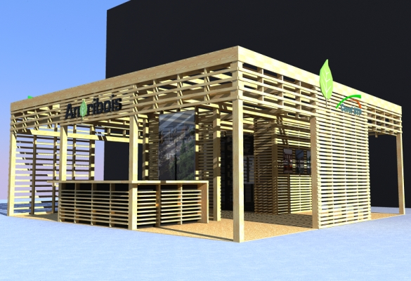 stand d 39 exposition ao architecture